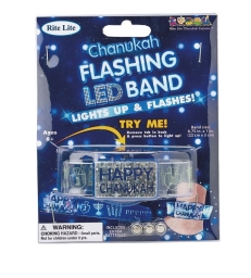 "Bracelet LED ""Happy Chanukah"""