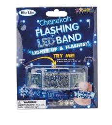 "Bracelet LED ""Happy Chanukah"""