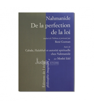 Nahmanide de la perfection de la loi