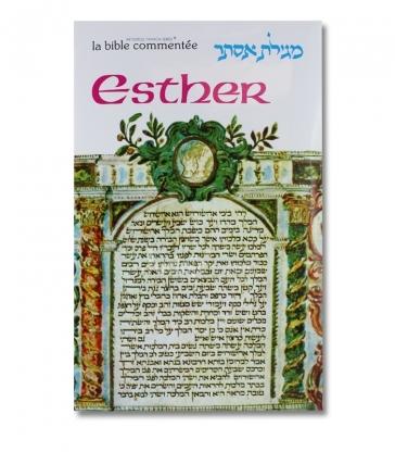 Esther collection La Bible commentée Artscroll