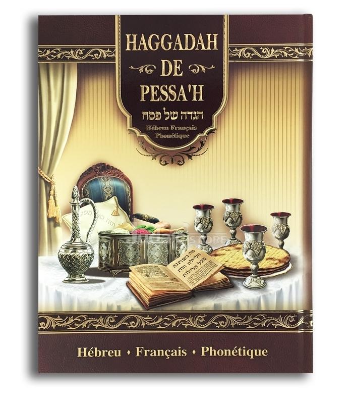 La hagada de pessah - hebreu -français - phonetique