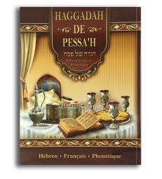 La hagada de pessah hébreu-français- phonétique