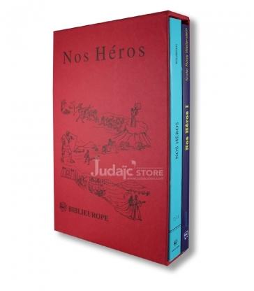 Nos Heros , coffret 2 Volumes .
