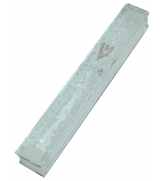 Boitier Mezouzah en Verre 12 cm