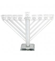 Hanoukia Habad Cristal 21cm