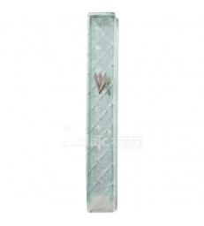 Boitier Mezouzah en verre 10cm