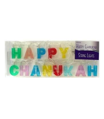 GUIRLANDE HAPPY CHANUKAH LUMINEUSE LED