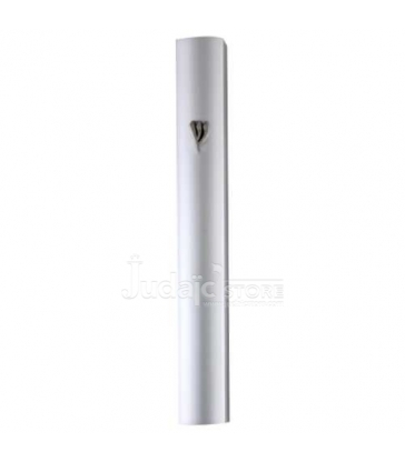 Mezouza en Aluminium 12cm- Métal Argenté