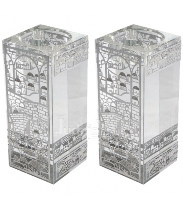 Bougeoirs Cristal