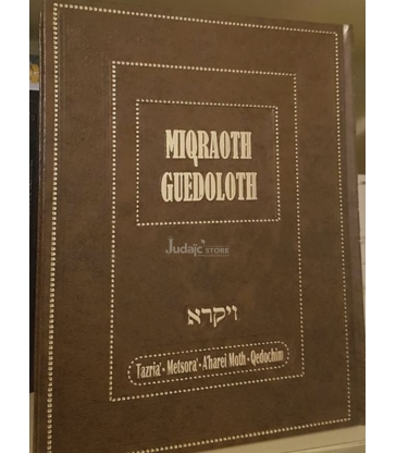 Miqraoth Guedoloth wayiqra vol 10 (Tazria' - Metsora' - A'harei Moth - Qedochim)