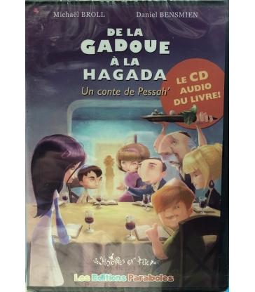 CD audio du livre de la Gadoue à la Hagada