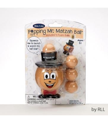 Popping Mr. Matzah Ball ™ avec 4 balles