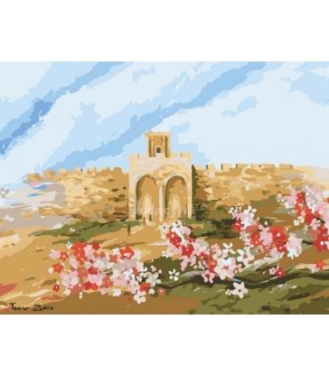 Porte de la miséricorde – peinture par numéros Tamar Zeitlin
