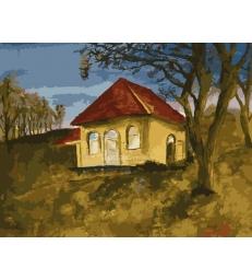 La maison de Rabbi Nathan – peinture par numéros Emmanuel Alimi
