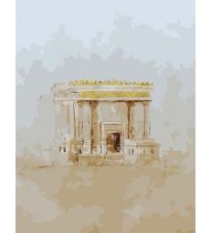 Le Bet Amikdash (Le Temple de Jerusalem) – peinture par numéros Tifara