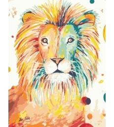 Le lion – peinture par numéros Tikva tsadik