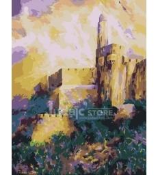 Jérusalem de Lumière – peinture par numéros Tamar Zeitlin