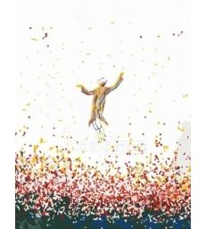 Hassid qui danse – peinture par numéros Tamar Zeitlin