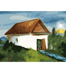 La maison de Rabbi Nahman – peinture par numéros Emmanuel Alimi