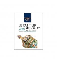 Steinsaltz - Taanit - Meguila (Couleur)