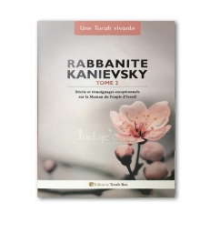 Rabbanite Kanievsky - Volume 2