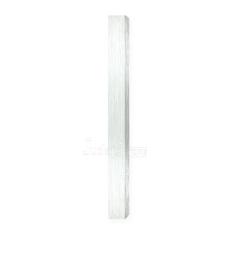 Boitier de Mézouza Alu gris clair 12 cm