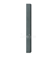 Boitier de Mézouza Alu gris-vert 12 cm